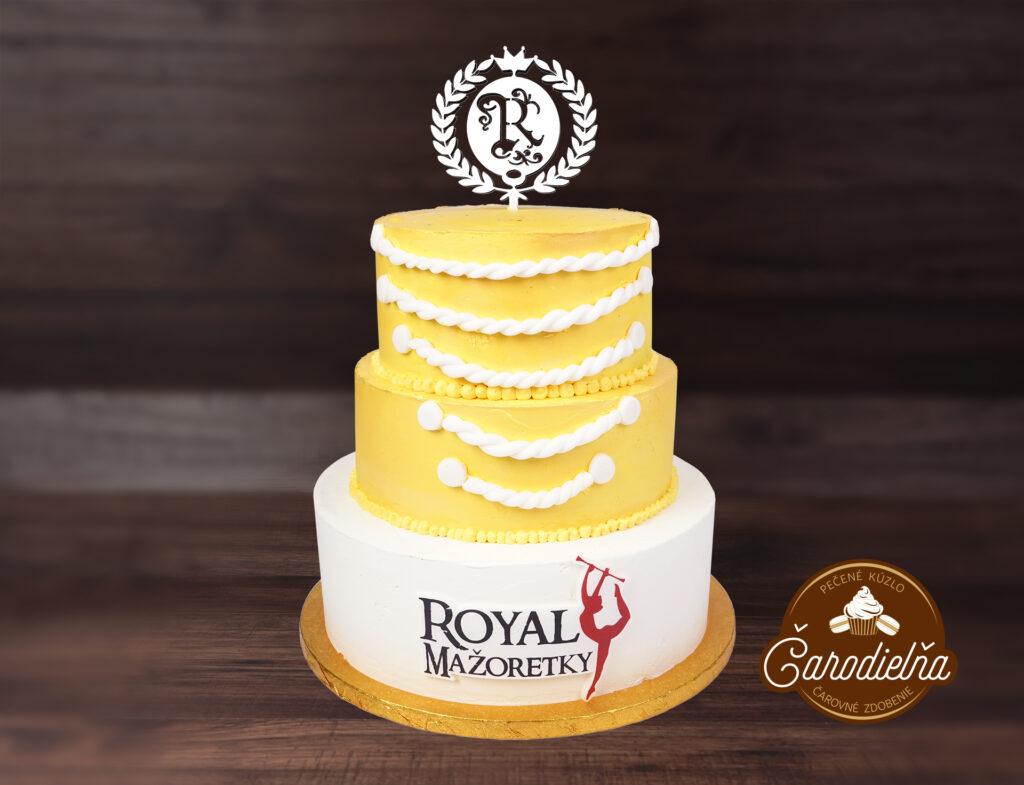 torta s 3D logom